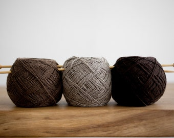 Sarlag - 100% yak down undyed yarn