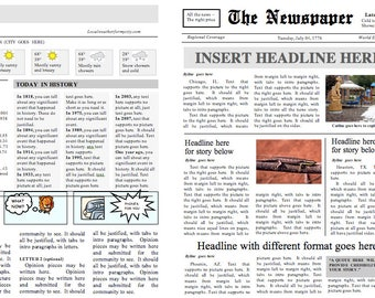 ms word front page