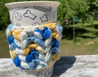Crochet coffee/tea cup cozy