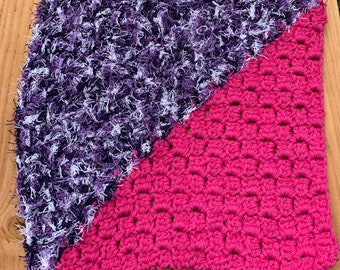 Crochet scrubby washcloth, dishcloth, dish rag