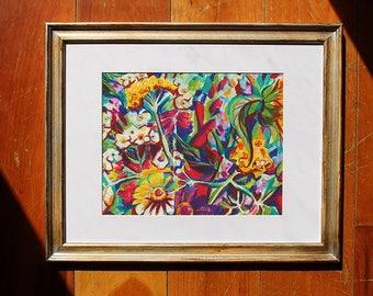 Flower Print, Jive