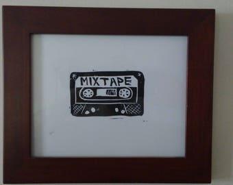 Mixtape print