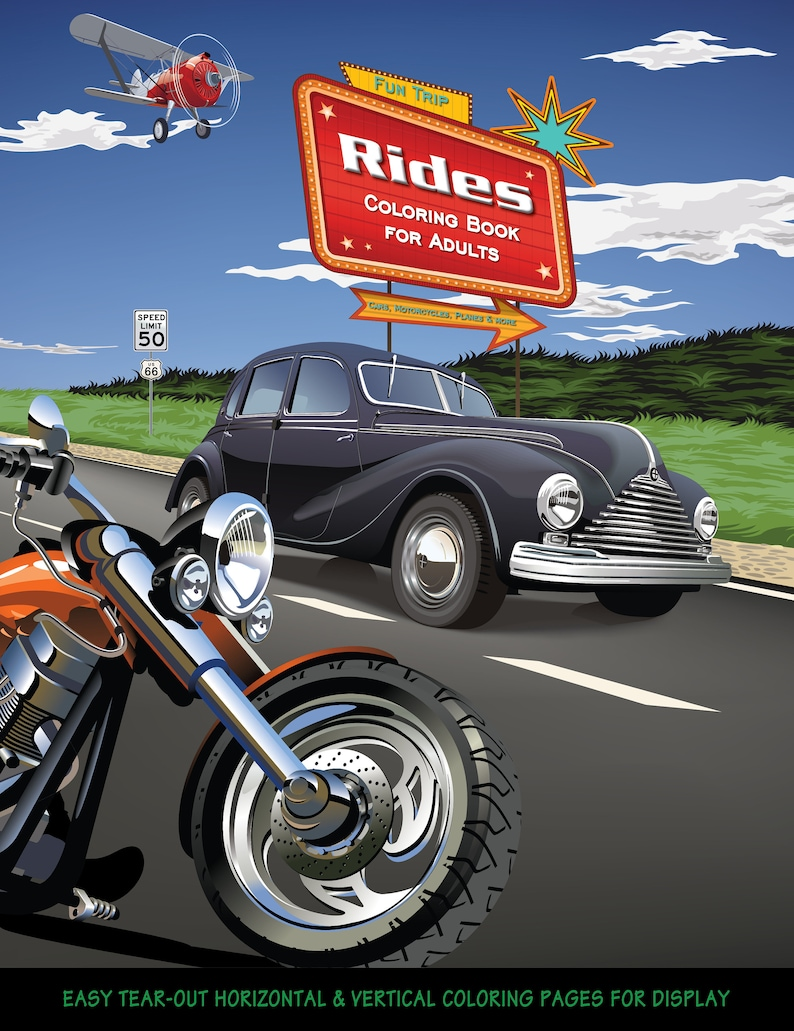 Rides. Do you like cars motorcycles and more  This adult image 1