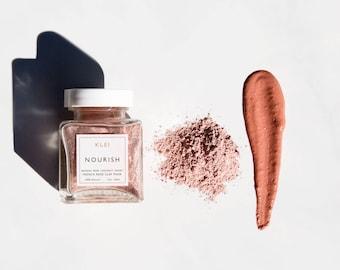 The Nourish Face Mask - Facial Mask, Kaolin Clay, Detox Mask, Pink Clay Mask, Pamper, Rose Face Mask, Clay Mask, Natural Skin Care, Mud Mask