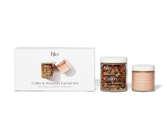 Klei Nourish & Calm Facial Set   Natural Skincare   Skincare Gift Set   Cruelty-Free Skincare