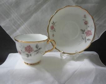 China #978 Porcelain Teacup and Saucer
