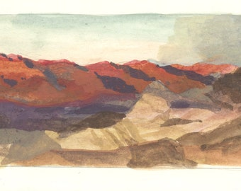 Death Valley Card
