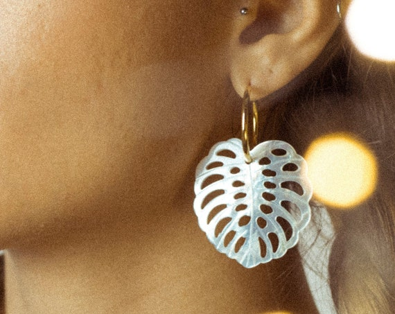 MONSTERA HOOPS