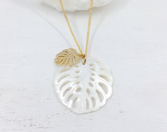 MONSTERA Necklace