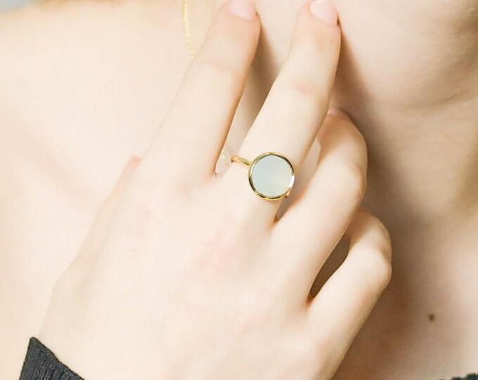 Featured listing image: AQUAMARINE Ring