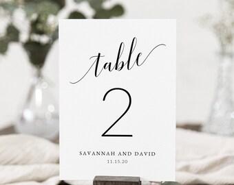 Table Numbers Wedding.Wedding Table Numbers Etsy