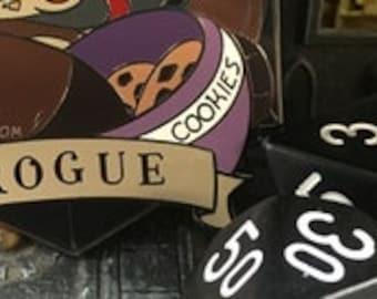Otter Rogue | Dungeons & Plushies Hard Enamel Pins