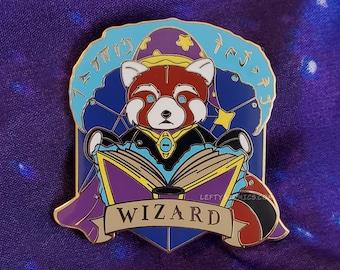 Red Panda Wizard | Dungeons & Plushies Hard Enamel Pins