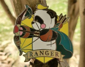 Panda Ranger | Dungeons & Plushies Hard Enamel Pins