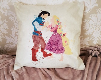 SILHOUETTE TIMELINE couples pillow