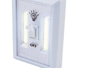 Wireless Wall Light Switch LED Bulbs Home Sheds Garage Basement Closet Cabinets Hallway Laundry Room Attic Armoire Nursery Kids Room Patio