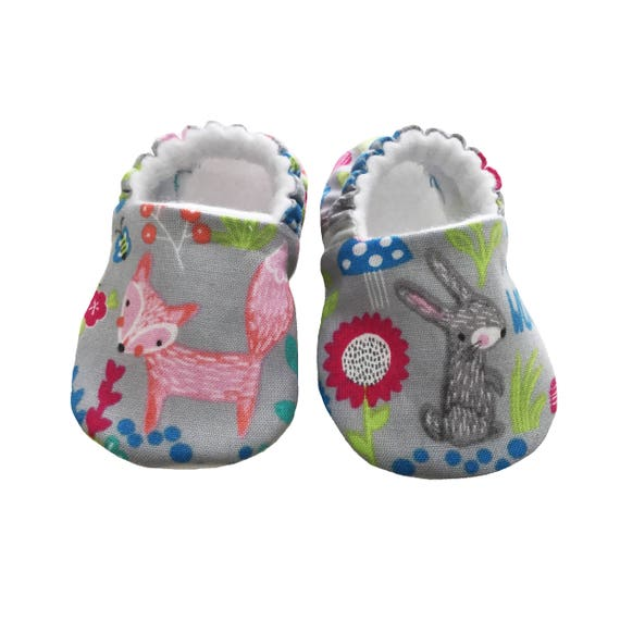Animal Moccasins Baby pram shoes Soft