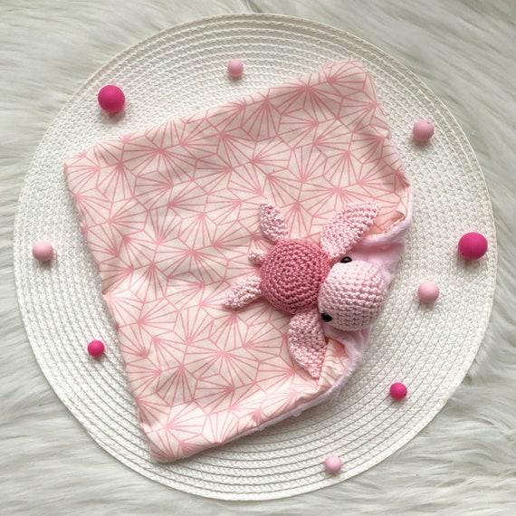 Schildkröte Decke Häkeln Mit Stoff Für Baby Etsy