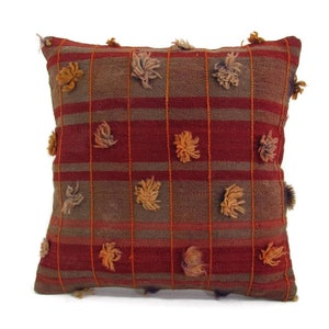 Red Kilim Pillow Christmas Decor Holiday Gift Housewarming Gift Holiday Decor Christmas Pillow Red Cushion mothers day gift for mom