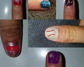 Nail painting decor