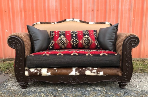 Swell Sold Leather Chairs Sofa Navajo Couch And Chairs Set Southwestern Custom Upholstered Lodge Furniture Machost Co Dining Chair Design Ideas Machostcouk