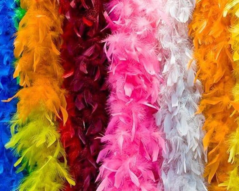 American Feathers 50 Gram Chandelle Boas