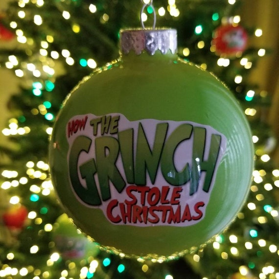 The Grinch Christmas Tree Decorations.The Grinch Christmas Tree Ornaments