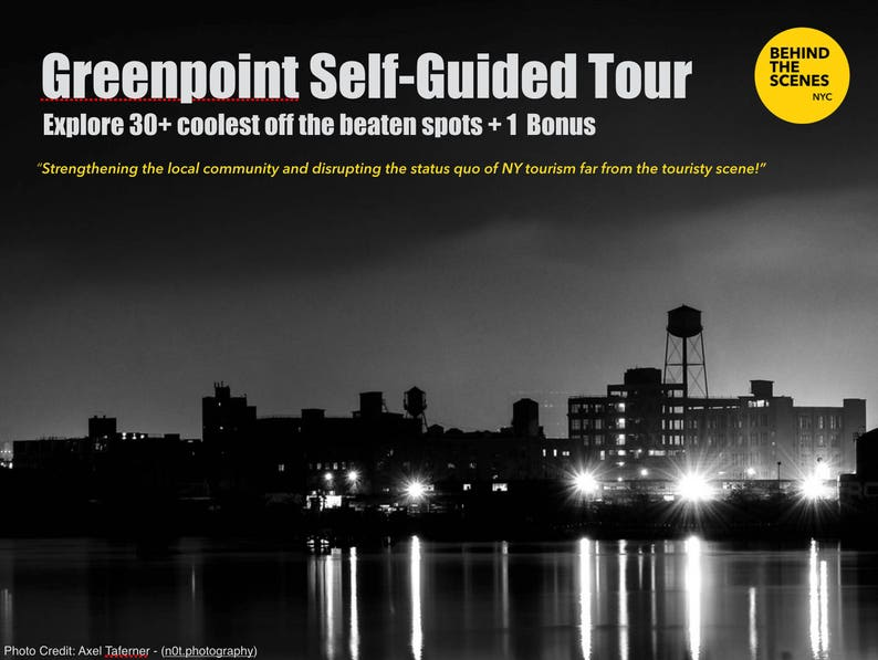 Greenpoint Self-Guided Tour Brooklyn NY image 0