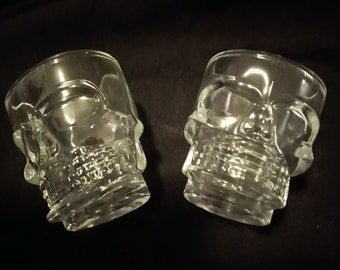Skull Shot Glasses Set Of 2
