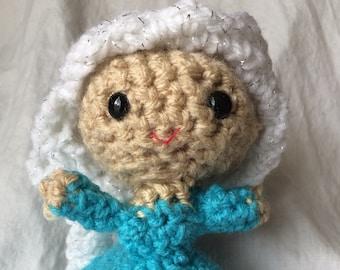 Amigurumi Elsa from Frozen