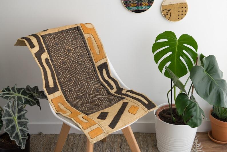 Vintage Kuba cloth from D.R Congo