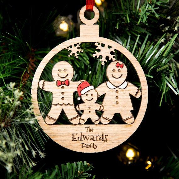 MDF Laser Cut Christmas Bauble Decoration NEW HOME 2018