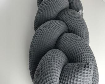 Braided Bed Snake BraidEd Bed Snake Dark Grey