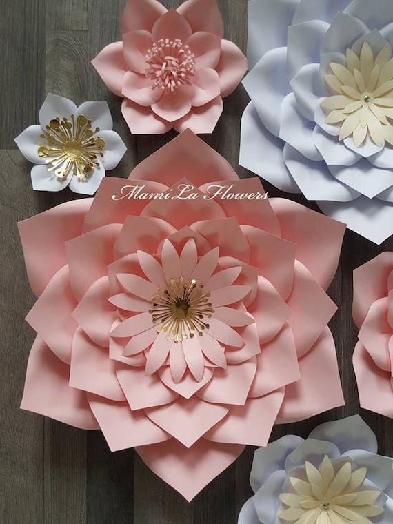 paper flower template PDF Paper Flower Template #54 Printable template Pdf paper flower template.