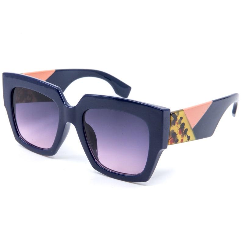Uv400 Classic Square Eyewear Sunglasses Best Women's Blue 2019 Modern ZTPukXiO