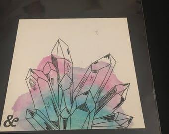 Crystals mini ink