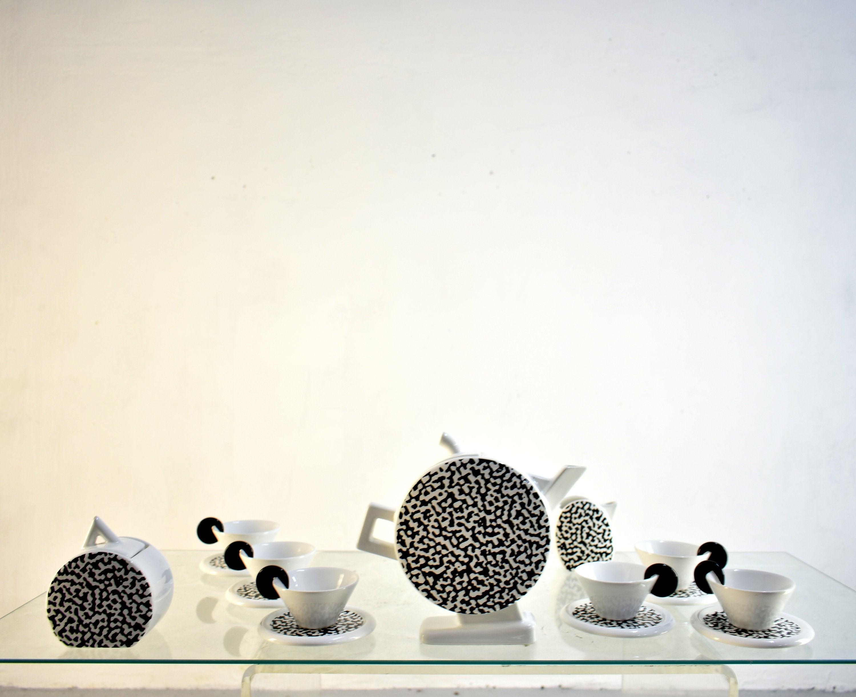 Came Materassi.Mas Italy Ceramic Coffee And Tea Set For 6 Design Castaldi Etsy