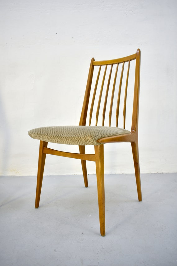 Fantastic Sale 30 1 3 Vintage Mid Century Modern Wooden Dining Chairs By Casala Germany 1960S Danish Modern Style Theyellowbook Wood Chair Design Ideas Theyellowbookinfo