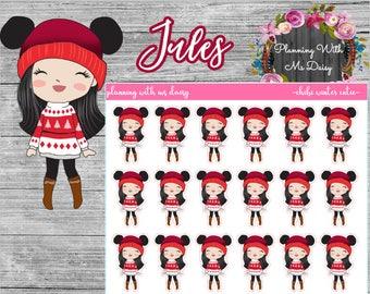Chibi Winter Cutie Sticker (Choose from 4 options)