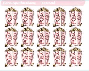 Popcorn Stickers
