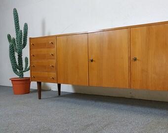 Sideboard dresser mid century modern vintage retro Danish design 50s 60s 50s 60s Credenza
