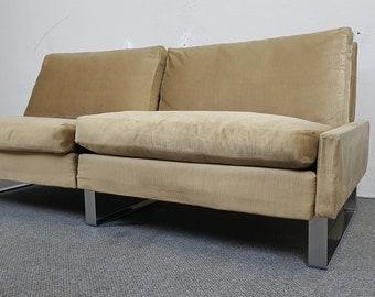 Cor Conseta Sofa Couch 2Sitzer Bauhaus plug-in system mid century vintage retro