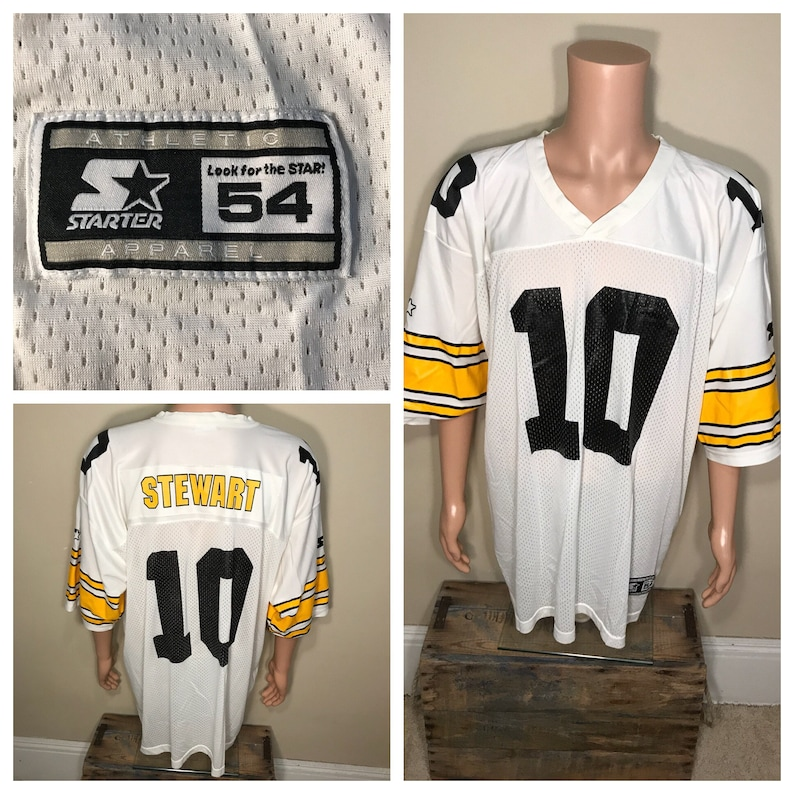 40939c92f6a Vintage Pittsburgh Steelers jersey    made by starter    white