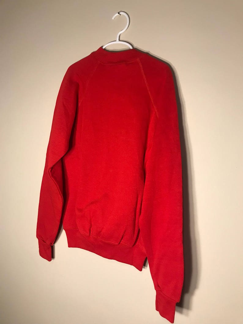 Vintage Bassett-Walker sweatshirt  youth large 14-16  blank deadstock NOS crew neck  crewneck 1980s rare