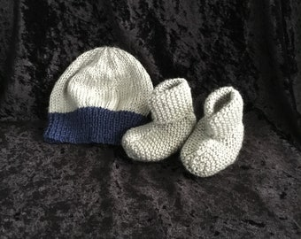 Hand Knitted Newborn Baby Set