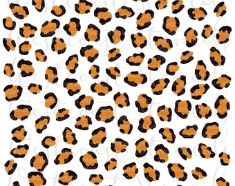 2cc09ccb051f Leopard Print Stencil, Animal Print, Cookie Stencil