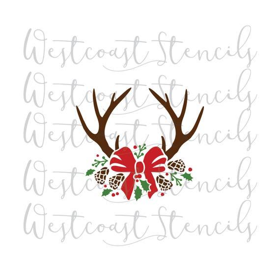 Deer Animal Ciervo Pared Arte Pegatina Calcomanía Decoración para el hogar A26