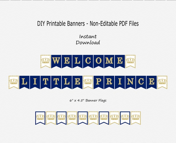 Prince Banners Stroke Banners