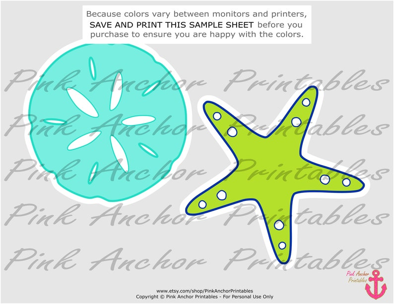 PRINTABLE INSTANT DOWNLOAD Royal Blue Printable Under the Sea Centerpieces It/'s a Boy Baby Shower Lime Green /& Aqua Blue