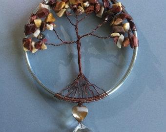 Mookaite Jasper Tree of Life